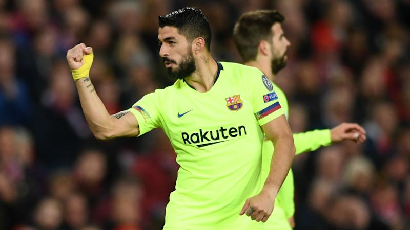 Getafe 0-2 Barcelona: Suarez and Junior fire Valverde's men to welcome win