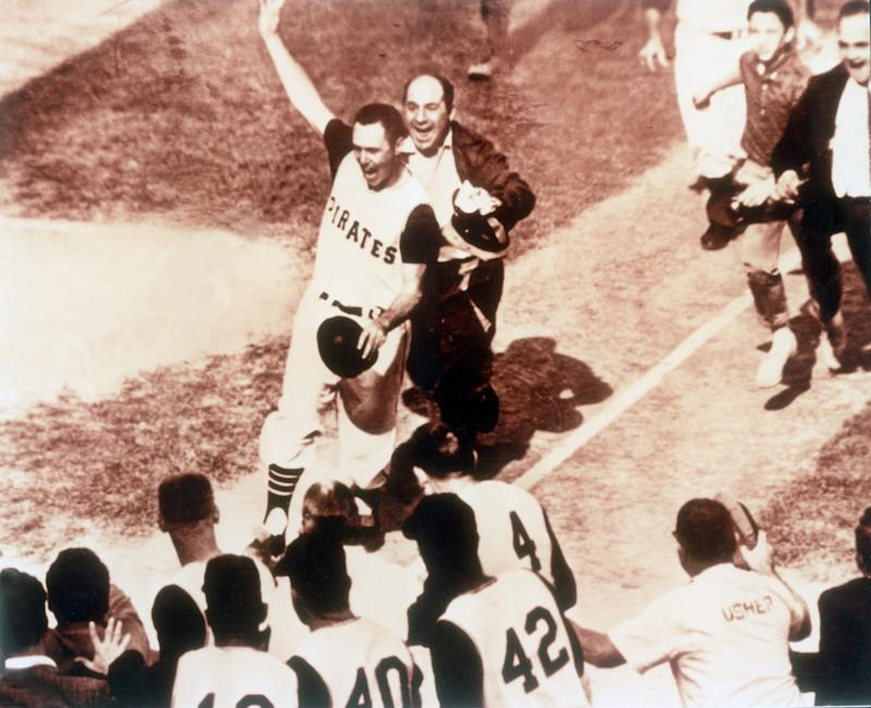 Bill Mazeroski delivered the only walk-off World Series Game 7 homer in history. (Getty Images)