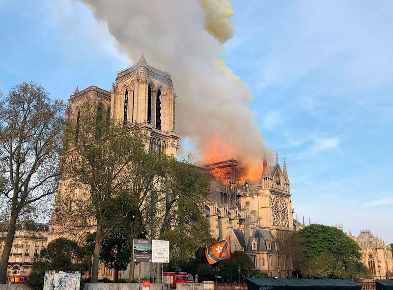 The Notre Dame Cathedral in Paris   AP/Shutterstock