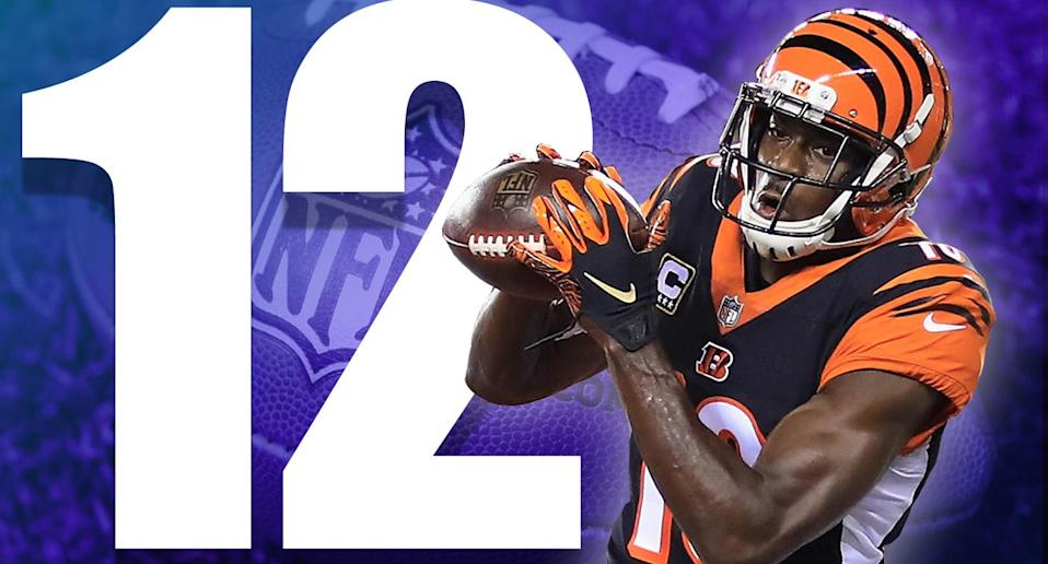 <p>Are the Bengals the favorite in the AFC North now? They looked much better than the Ravens on Thursday night, the Steelers are in a really bad place, and then there are the Browns. (A.J. Green) </p>