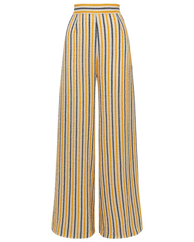 """<p>A great pair of wide-legged trousers can be worn all year round, preferably with a chunky jumper or a strappy top. <br></p><p>Trousers, £440, Three Graces</p><p><a class=""""body-btn-link"""" href=""""https://go.redirectingat.com?id=127X1599956&url=https%3A%2F%2Fthreegraceslondon.com%2Fcollections%2Fall%2Fproducts%2Ffilippa-trousers%3Fvariant%3D31123481034846&sref=https%3A%2F%2Fwww.townandcountrymag.com%2Fuk%2Fstyle%2Ffashion%2Fg32366455%2Fcold-weather-fashion%2F"""" target=""""_blank"""">SHOP NOW</a></p>"""