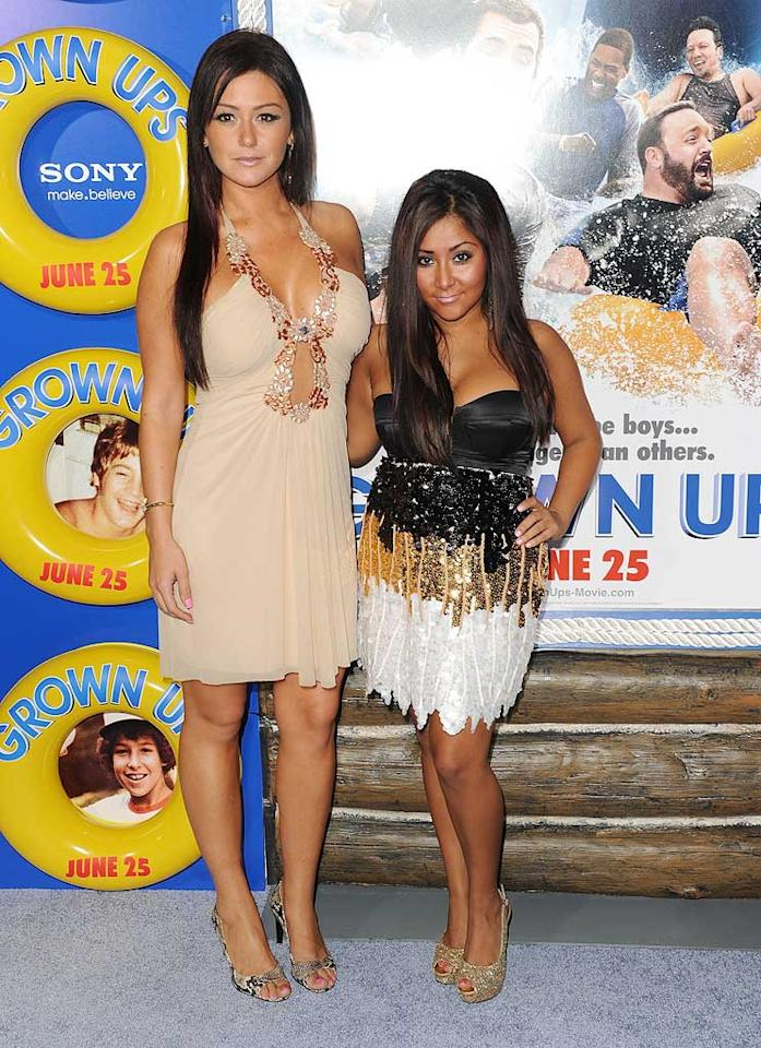 """You can take the girls out of Jersey, but you can't take the Jersey out of the girls. Ain't that right, JWoww and Snooks? Stephen Lovekin/<a href=""""http://www.gettyimages.com/"""" target=""""new"""">GettyImages.com</a> - June 23, 2010"""