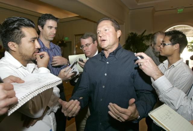 Scott Boras had some harsh things to say about teams not spending this offseason. (AP Photo)