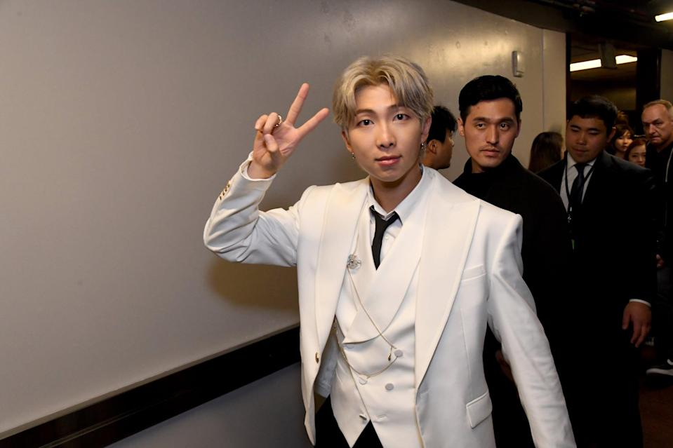 """<p>He's not only the tallest member of BTS, he could also very well be the smartest. On a Yaman TV episode, he revealed, """"<a href=""""http://www.koreaboo.com/news/bts-rap-monster-explains-why-he-hasnt-taken-mensas-iq-test/"""" class=""""link rapid-noclick-resp"""" rel=""""nofollow noopener"""" target=""""_blank"""" data-ylk=""""slk:My score in my second year of high school was 148"""">My score in my second year of high school was 148</a>."""" RM's score is high enough to where he could very well take the Mensa International test. <br></p>"""