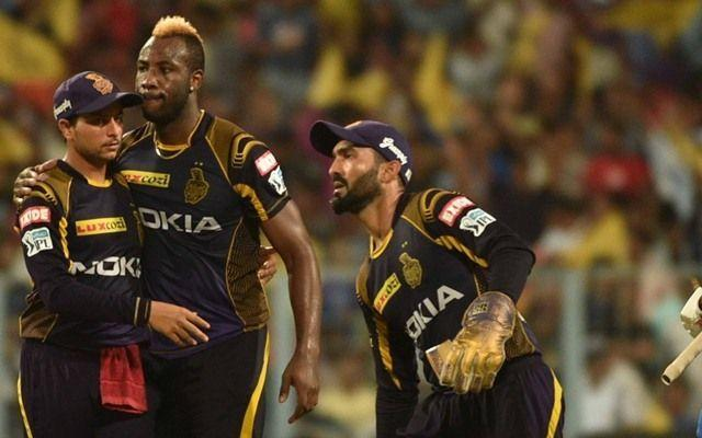 KKR finished at the third spot in IPL 2018
