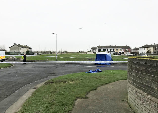 The body parts were found in a bag in Coolock, north Dublin (PA)