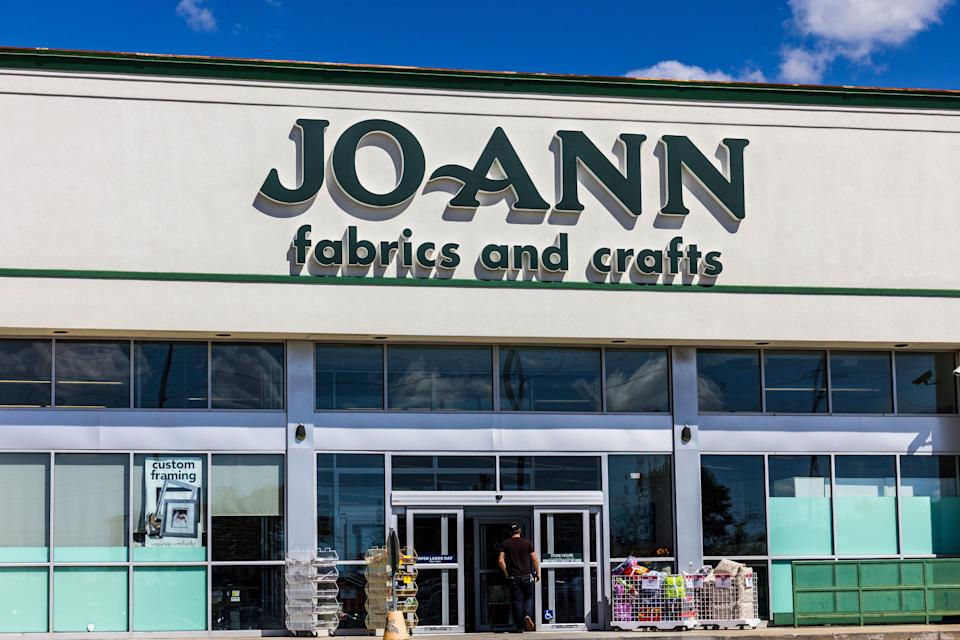 JoAnn Fabrics has closed some stores to foot traffic but many remain open during the coronavirus pandemic. (Photo: jetcityimage via Getty Images)