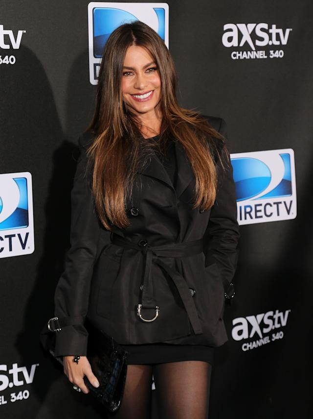 NEW ORLEANS, LA - FEBRUARY 02: Actress Sofía Vergara attends DIRECTV Super Saturday Night Featuring Special Guest Justin Timberlake & Co-Hosted By Mark Cuban's AXS TV on February 2, 2013 in New Orleans, Louisiana. (Photo by Neilson Barnard/Getty Images for DirecTV)