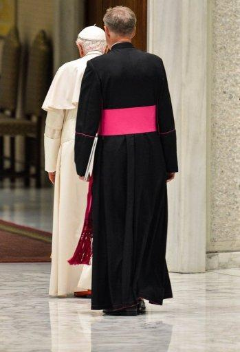Pope Benedict XVI is followed by his personal secretary at the Vatican. The Catholic Church could have avoided much of the scandal that currently surrounds it if women had been in positions of power, says a feminist insider in the Church