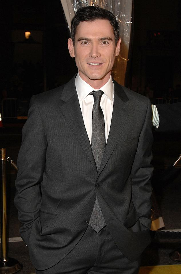 """<a href=""""http://movies.yahoo.com/movie/contributor/1800019546"""">Billy Crudup</a> at the Los Angeles premiere of <a href=""""http://movies.yahoo.com/movie/1808406490/info"""">Watchmen</a> - 03/02/2009"""