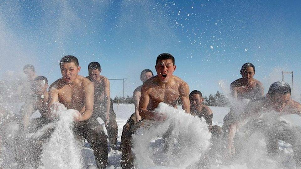 Soldiers in China's army