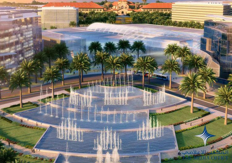 Mohammed Bin Rashid City will encompass a massive park capable of welcoming 35 million people. Artist impression provided by The Media Office, Dubai