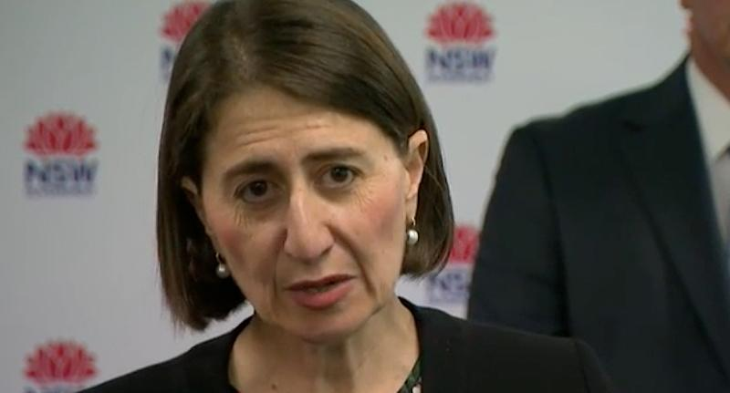 "Premier Gladys said it is ""critical"" people follow the NSW Health instructions. Source: Nine"