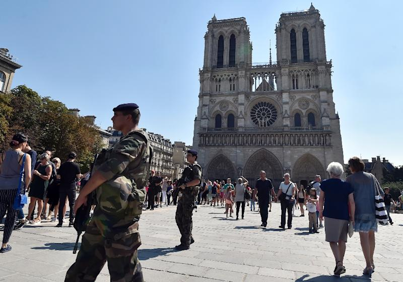 Madani's trial for trying to set fire to a car filled with six gas cylinders near Notre-Dame will begin on September 23