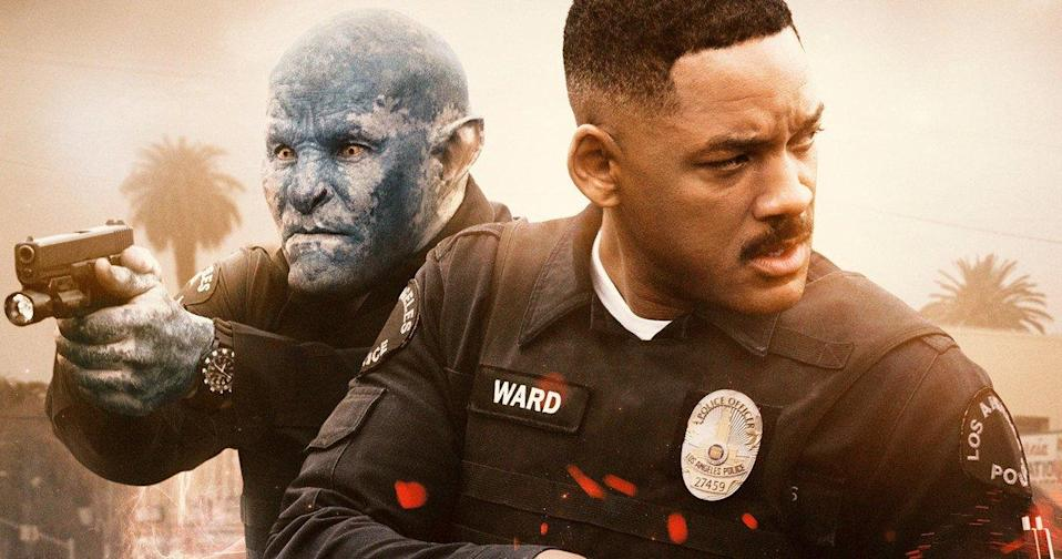 Will Smith stars with Joel Edgerton in the Netflix movie Bright (Netflix)