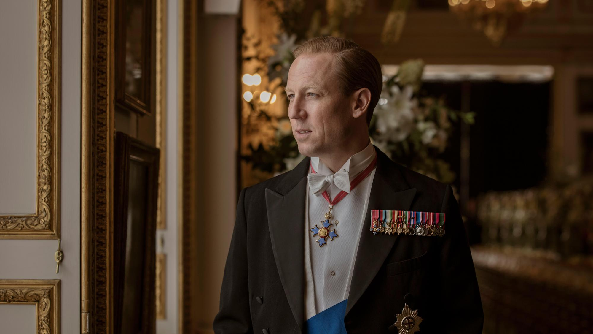 The Crown's Tobias Menzies on Philip's 'great ingenuity and great energy'