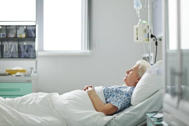 The group cites a University of Toronto report that found only 20 per cent of long-term care home residents who died from COVID-19 in Ontario were sent to hospital before dying. (Shutterstock - image credit)