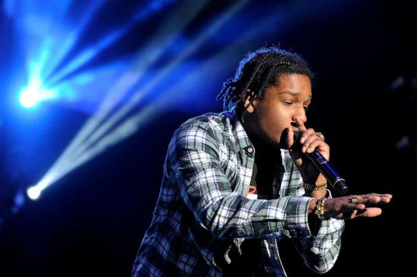 PHOTO: A$AP Rocky performs at Fiddlers Green Amphitheatre in Denver, Colorado, April 20, 2015. (Seth Mcconnell/Denver Post via Getty Images, FILE)