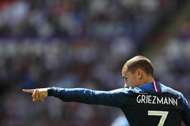 France forward Antoine Griezmann writes himself into the World Cup history books (AFP Photo/Roman Kruchinin)