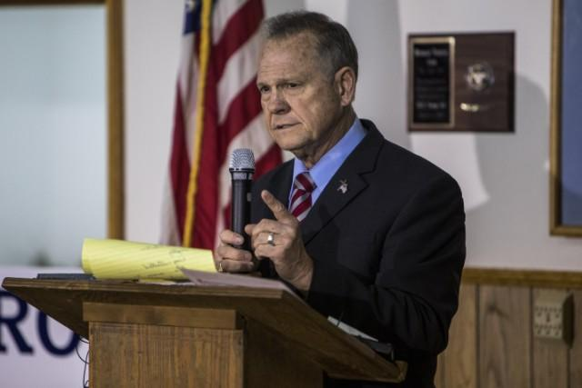 Roy Moore Tried To Convince Black Churchgoers He Isn't A Sexual Predator By Reading A Christmas Poem