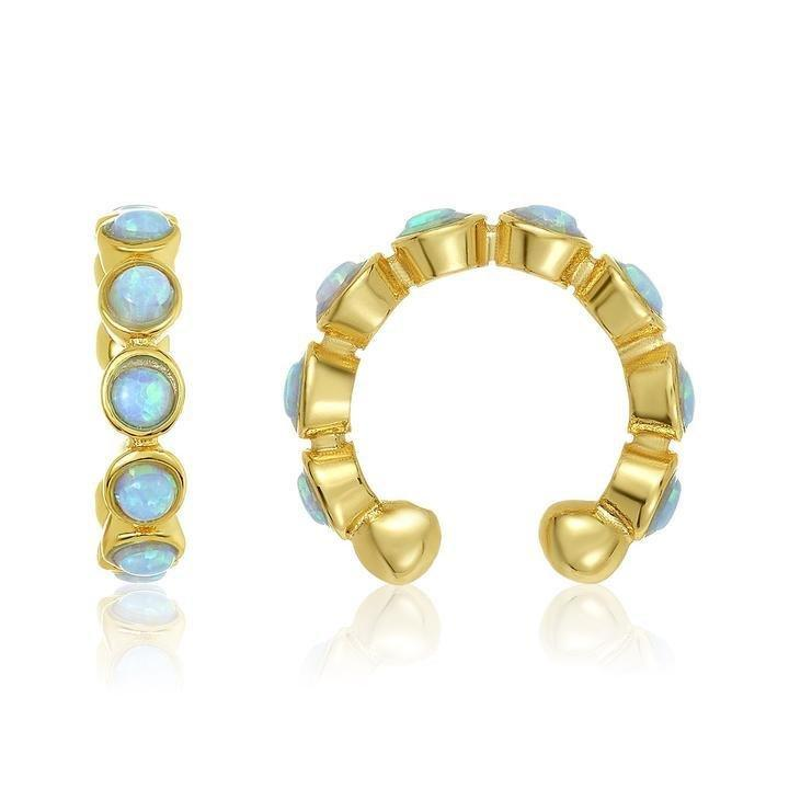 """<p>Embedded with tiny blue opals, this edgy ear cuff is a chic addition to any jewelry box.</p> <p><strong>To buy: </strong>$35; <a href=""""https://click.linksynergy.com/deeplink?id=93xLBvPhAeE&mid=43852&murl=https%3A%2F%2Fmelindamaria.com%2Fcollections%2Fall-products%2Fproducts%2Fbaroness-ear-cuffs&u1=RS%2C30BestFriendChristmasGifts%2Cdarganb%2CGIF%2CGAL%2C562615%2C201910%2CI"""" target=""""_blank"""">melindamaria.com</a>.</p>"""