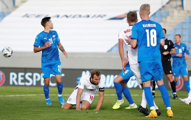 Nations League: England beats Iceland 1-0 after dramatic end