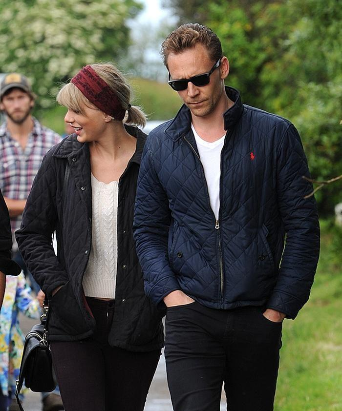 Tom Hiddleston and Taylor Swift in England. Photos: Splash News.