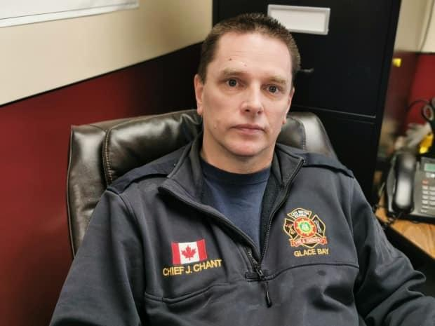 Chief John Chant of the Glace Bay volunteer fire department says it takes heart and a giving spirit to volunteer as a firefighter. (George Mortimer/CBC - image credit)