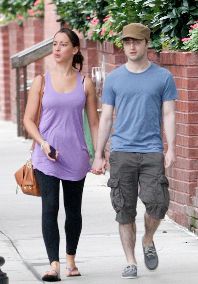 "Emma's ""Harry Potter"" co-star Daniel Radcliffe's new relationship started out even more mysterious, with everyone wondering just <i>who</i> his mystery woman was when the couple strolled the streets of New York hand-in-hand last month. A week later, her identity was revealed. She's 22-year-old Brit Roseanne Coker and Daniel is apparently gaga over the gal. ""I've got a girlfriend at the moment, who I am very much in love with,"" he said during an interview with Larry King in July. ""So, you know, we'll see where that goes."" <a href=""http://www.infdaily.com"" target=""new"">INFDaily.com</a> - August 16, 2011"