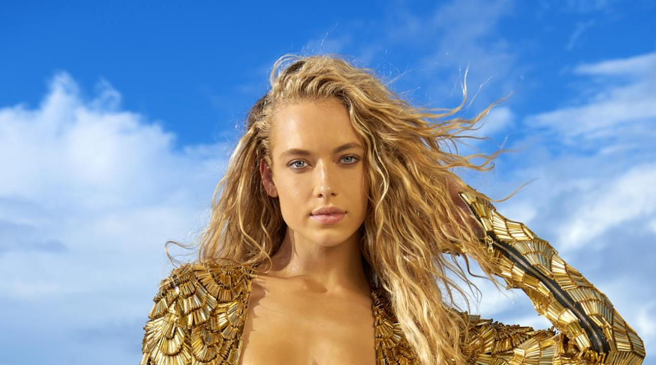 1cf5c0b62287 <p>Hannah Ferguson was photographed by Yu Tsai in Fiji. Swimsuit by THE