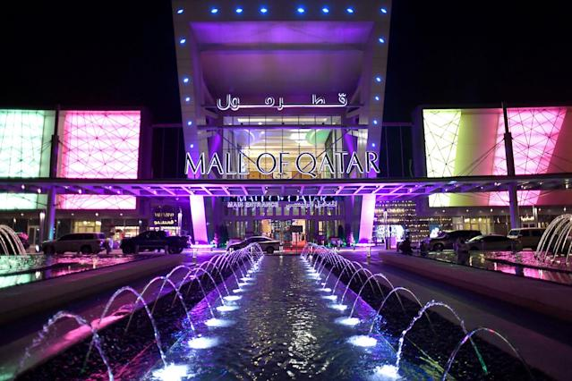 <p>A general view of the grand opening of the Mall of Qatar on April 8, 2017 in Doha, Qatar. (Photo: Ian Gavan/Getty Images for Mall of Qatar) </p>