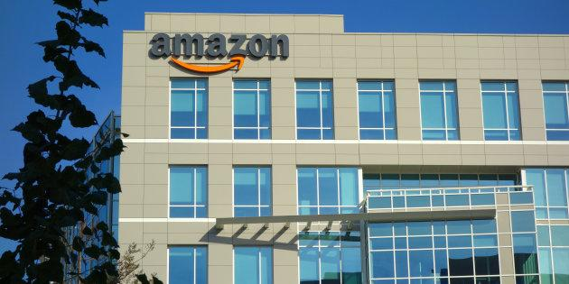An Amazon corporate office building in Sunnyvale, Calif. Amazon says it has received 238 proposals from cities and regions across North America vying to host the company's second headquarters.