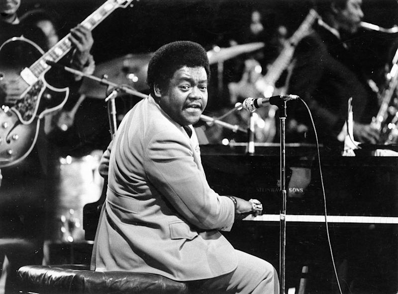 Fats Domino in 1973. (ullstein bild via Getty Images)