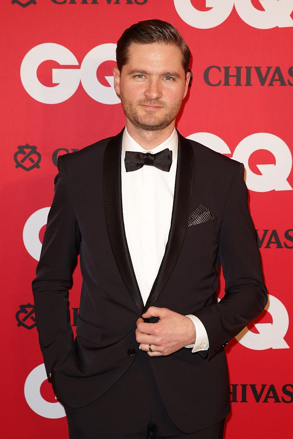 Charlie Pickering arrives at the GQ Men of the Year awards at the Ivy Ballroom on November 19, 2013 in Sydney, Australia