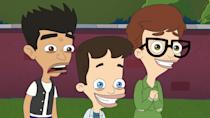 """<p><strong>Big Mouth </strong>follows the pubescent dramas of Nick and Andrew, two middle schoolers voiced by Nick Kroll and John Mulaney. It's a concoction of family drama, adolescent woes, raging hormones, and fast, quirky comedy that makes it a great watch for anyone who enjoys <strong>The Politician</strong>. Except there are more raunchy jokes. Lots more. </p> <p><a href=""""https://www.netflix.com/title/80117038"""" class=""""link rapid-noclick-resp"""" rel=""""nofollow noopener"""" target=""""_blank"""" data-ylk=""""slk:Watch it here."""">Watch it here. </a></p>"""