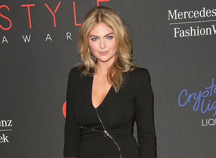 Kate Upton arrives at the 2013 Style Awards at Lincoln Center on Wednesday, Sept. 4, 2013 in New York. (Photo by Ben Hider/Invision/AP)