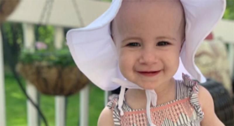 Chloe Wiegand, 1, is pictured.