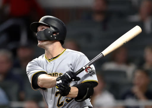 Former World Series MVP David Freese has been traded to the Los Angeles Dodgers. (AP)