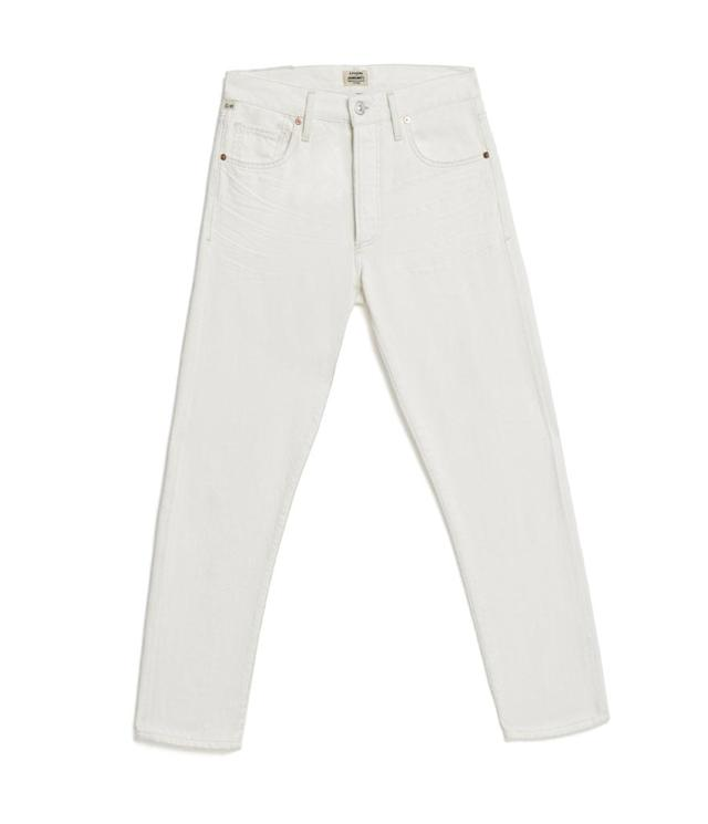 "<p>Liya High Rise Classic Fit In White Noise, $208, <a href=""https://www.citizensofhumanity.com/liya-high-rise-classic-fit-in-white-noise"" rel=""nofollow noopener"" target=""_blank"" data-ylk=""slk:citizensofhumanity.com"" class=""link rapid-noclick-resp"">citizensofhumanity.com</a> </p>"