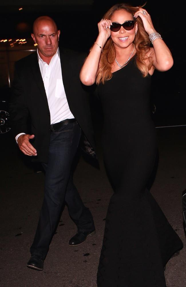 Mariah Carey was sued by her former bodyguard Michael Anello over alleged inappropriate behaviour late last year. Source: Splash