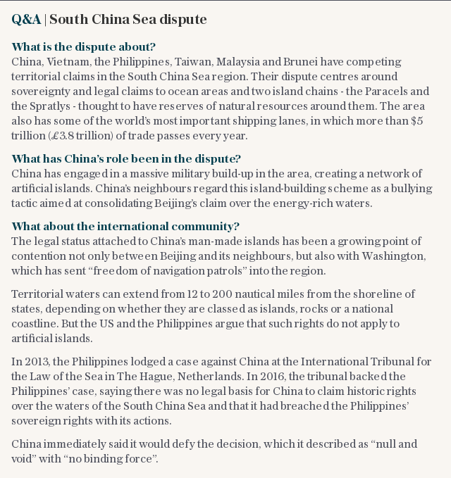 Q&A | South China Sea dispute