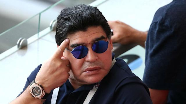 "FIFA responded to Diego Maradona's criticism of officials, describing his comments as ""entirely inappropriate and completely unfounded""."