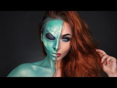 """<p>If your Halloween makeup skills are at the level <strong>where using FX and prosthetics is just a regular day for you</strong>, this is the alien makeup tutorial you've been looking for. For the rest of us, this is purely aspirational—I mean, that eyebrow ridge? The cheekbone? Like, what?!</p><p><a href=""""https://www.youtube.com/watch?v=nnl9wXpp1To"""" rel=""""nofollow noopener"""" target=""""_blank"""" data-ylk=""""slk:See the original post on Youtube"""" class=""""link rapid-noclick-resp"""">See the original post on Youtube</a></p>"""