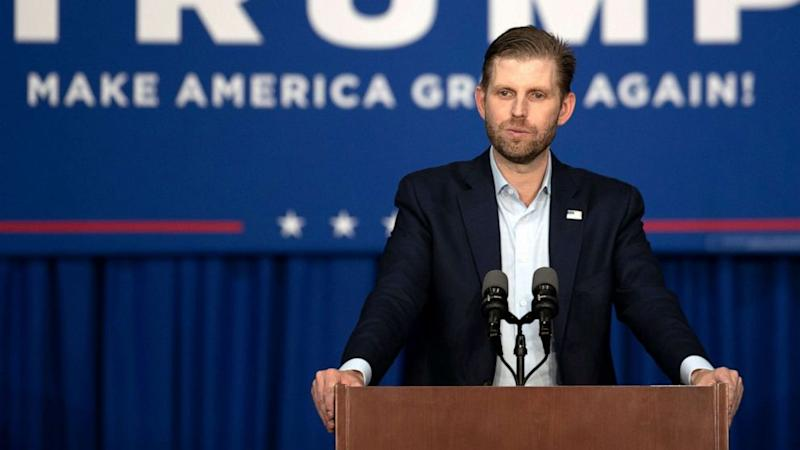 Eric Trump deposed by New York attorney general's office about Trump Organization