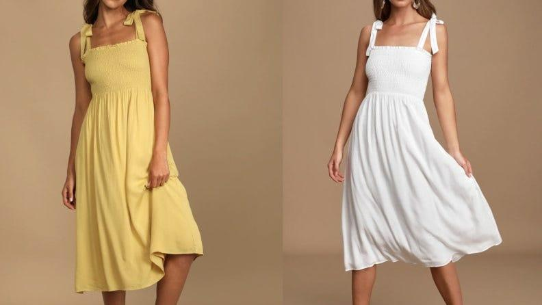 Lulus is a haven of Nap Dress lookalikes.