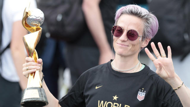 Above all else, Rapinoe says she and her USWNT teammates value inclusivity.
