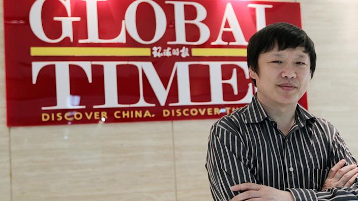 Hu Xijin, editor of the Global Times, rejects any suggestion China is an international bully