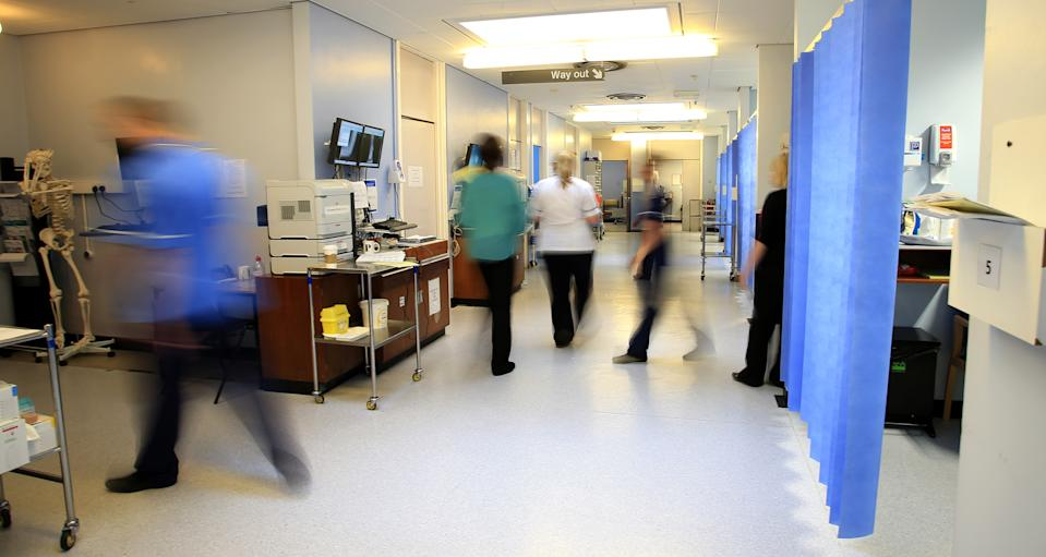 Embargoed to 0001 Monday August 10 File photo dated 03/10/14 of a hospital ward. A multi-million pound Government plan to train more apprentice nurses falls short of what is needed, the Royal College of Nursing has said.