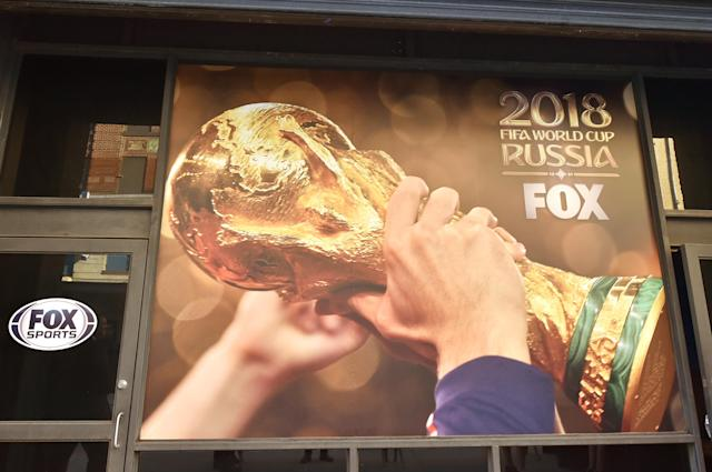 The 2018 World Cup will be the first men's World Cup broadcast on Fox in the United States. (Getty)