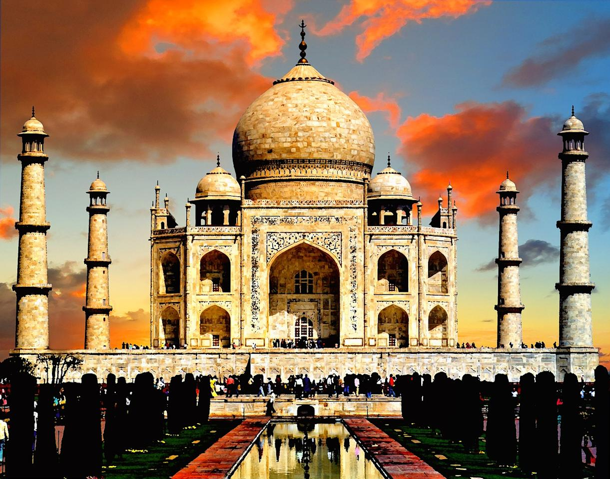 <span>The ornate domes and minarets are similar to those of the Taj Mahal in Agra, India, which was built as a tomb for a sultan's wife. </span><i><span>[Photo: Pixabay]</span></i>